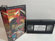 KUNG FU KARATE FIGHT VHS VIDEO TAPE MOVIE JET LI THE LAST HERO IN CHINA CLAWS OF