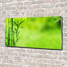 Acrylglas-Bild Wandbilder Druck 140x70 Deko Blumen & Pflanzen Bambus