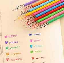 0.35mm Rollerball Gel Pens Fine Point 12-Pack Assorted Colors School Supplies