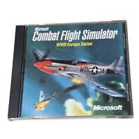 PC CD-ROM Game Microsoft Combat Flight Simulator WWII Europe Series Windows 1998
