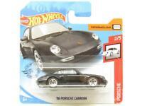Hotwheels 916 Porsche Carrera Black GHD19 Short Card 1 64 Scale Sealed