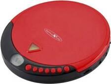 Reflexion PCD510MF Tragbarer CD/MP3-Player mit UKW-Radio /Hörbuchfunktion! rot