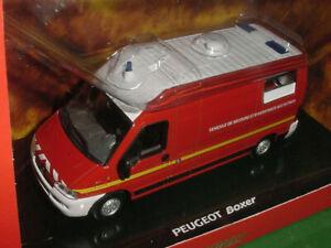 Peugeot Boxer VSAV Norev réf 479001 neuf en boite