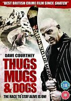 Thugs, Mugs And Dogs - Dave Courtney, Paul Usher, Cathy Barry, Thomas NEW R2 DVD