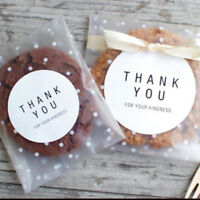 Self Adhesive Cellophane Cookie Candy Bags For Kids Christmas Birthday Party