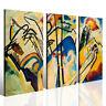 Quadri famosi Vasilij Kandinsky vol X stampe su tela canvas telaio spesso 3 cm