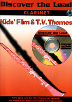 CHILDRENS FILM & TV THEMES Easy Clarinet Sheet Music Book & CD Shop Soiled Cover