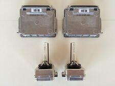 2x New OEM 08-13 Jeep Grand Cherokee Xenon HID Headlight Ballast & D1S Bulb Kit