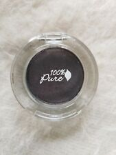 100% PURE - Fruit Pigmented Eye Shadow FIG natural organic eye makeup OPEN