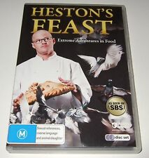 Heston's Feast - Extreme Adventures in Food (DVD, 2010, 2-Disc Set)