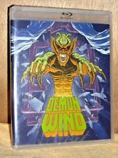 Demon Wind (Blu-ray/DVD, 2017, 2-Disc) NEW Eric Larson Francine Lapensee horror