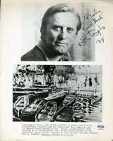 Kirk Douglas PSA DNA Coa Signed 8x10 Photo Autograph