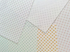 Japanese Screen Print Modern Dot Origami Paper Made in Japan 20 Sheets Chiyogami