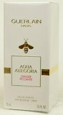 Aqua Allegoria Ginger Piccante by Guerlain   75ml Eau De Toilette Spray  NEW