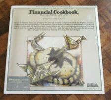 Vintage Financial Cookbook for Atari 520 St Computers, Electronic Arts - Sealed