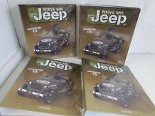 Hachette - Bauen Sie den Jeep Willys MB U.S Army 1:8 - Heft aussuchen NEU 1-75