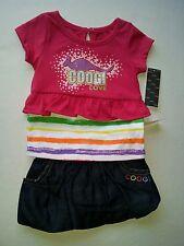 COOGI INFANT 2 PC SET. MUTI-COLOR, SIZE 6-9 MONTHS
