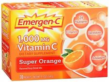 Emergen-C Vitamin C Drink Mix Packets Super Orange 30 Each