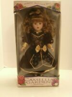 VINTAGE CAMELLIA GARDEN LIMITED COLLECTOR EDITION GENUINE PORCELAIN DOLL BY LYNN