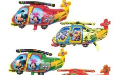 1PC Cartoon Mickey Minnie Helicopter Balloons Birthday Party Decoration Baby