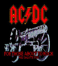 AC/DC - Patch Aufnäher - For those about to rock