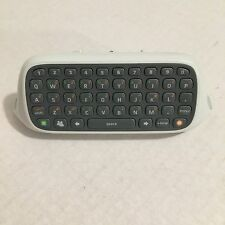 Official Microsoft Xbox 360 Chatpad! Controller Keyboard! ~ Works Great! ~ OEM