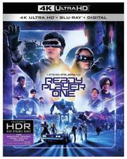 Ready Player One w/Slipcover (4K Ultra HD, Blu-ray, Digital) NEW