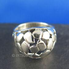 Markenlose Ringe ohne Steine aus echtem Edelmetall 19,1 mm Ø) (60