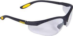 DeWalt Reinforcer Clear Lens Protective Work Glasses Safety Specs DPG58-1D EU