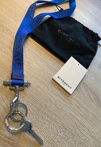 GIVENCHY Paris - Lanyard - Keyholder - New - Blue - Original !!