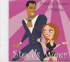 Franklin Brown&Maxine-Steeds Weer cd single