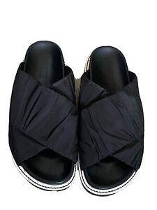 GANNI QUILTED SLIDERS SIZE 41
