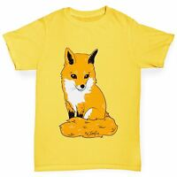Twisted Envy Girl's Wild Red Fox T-Shirt