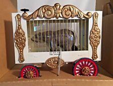 Bachmann Big Hauler G Gauge  Circus Cage Wagon w/ Bear  #92703  NIB