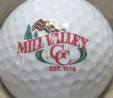 (1) Mill Valley Golf Course Logo Golf Ball