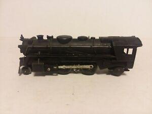 VINTAGE MARX 0 SCALE CAST IRON TRAIN ENGINE LOCOMOTIVE #666 UNTESTED EXC