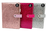 2021 A5 Full Year Organiser & Pen Week to View Diary Planner Glitter Covers 2021