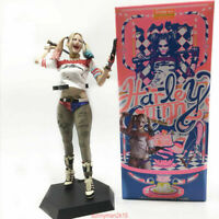 """CRAZY TOYS 1:6 Scale Harley Quinn Collectible Figure Statue 11"""" SUICIDES SQUAD"""