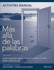 MAS ALLA DE LAS PALABRAS - SMITH, OLGA GALLEGO/ GODEV, CONCEPCION B./ KELLEY, MA