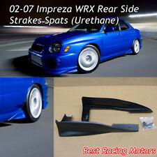 Rear Side Spats Fits 02-07 Subaru Impreza WRX