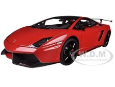 LAMBORGHINI GALLARDO LP570 SUPERTROFEO STRADALE RED 1/18 BY AUTOART 74691