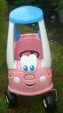 LITTLE TIKES 30th ANNIVERSARY PRINCESS PINK COZY COUPE ~ NEAR MINT