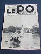 le P.O. 1932 22 ARGENTON BLOIS SOINGS SALBRIS AUBIN