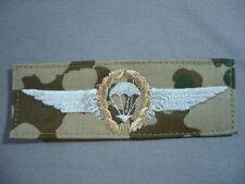 Bundeswehr Fallschirmspringer Bronze auf wüstentarn desert Tätigkeitsabzeichen