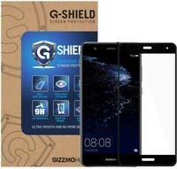 GShield® 3D Full Cover Tempered Glass Screen Protector For Huawei P10 Lite Black
