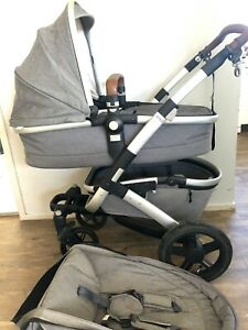 Joolz-Geo2, pram (Grey) Seat & Bassinet
