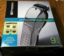 PROFESSIONAL STYLE CLIPPERS + ACCESSORY KIT