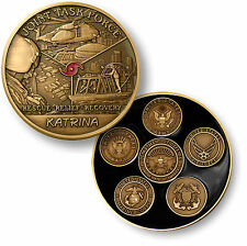 Joint Task Force Katrina / Armed Forces Seals - Challenge Coin