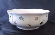 Villeroy and Boch - Petite Fleur - one(1) 8 1/4in. Vegetable Bowl Replacement