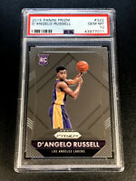 D'ANGELO RUSSELL 2015 PANINI PRIZM #322 CHROME ROOKIE RC PSA 10